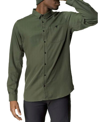 Houdini M's Out And About Shirt Willow Green