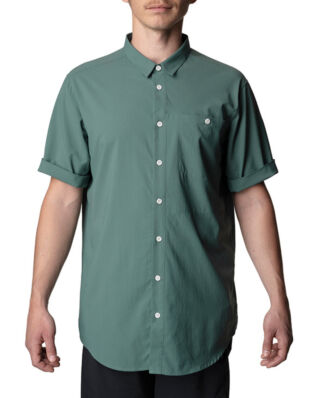 Houdini M's Shortsleeve Shirt Storm Green