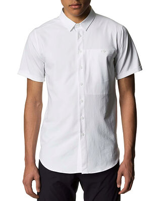 Houdini M's Shortsleeve Shirt Powderday White