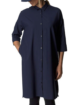 Houdini W's Route Shirt Dress Blue Illusion