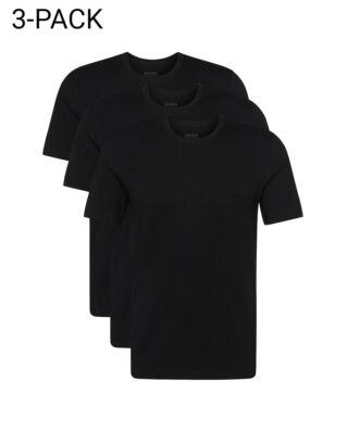 Hugo Boss  3-Pack Crew Neck T-shirt Black
