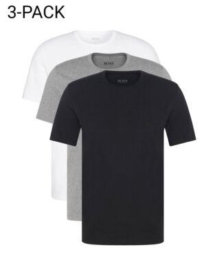 Hugo Boss  3-Pack Crew Neck T-shirt Black/White/Grey