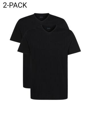 Hugo Boss  2-Pack V-neck T-shirt Relaxed Fit Black
