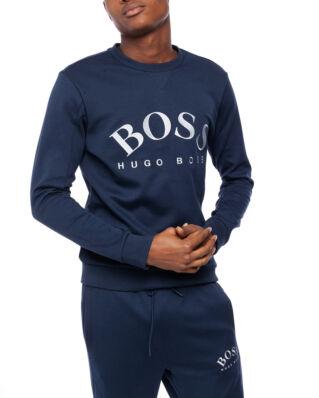 BOSS Salbo 50410278 01 416 Dark blue/Silver Sweatshirt
