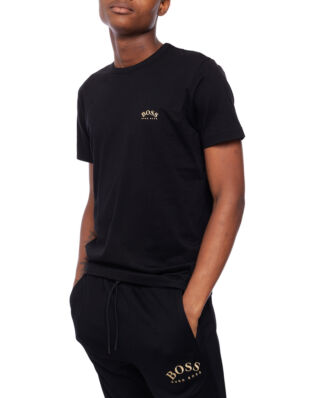 Hugo Boss  Tee Curved 50412363 01 006 Black/Gold