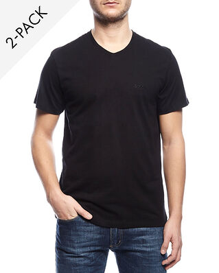 BOSS V-neck t-shirt relaxed fit 2-Pack black
