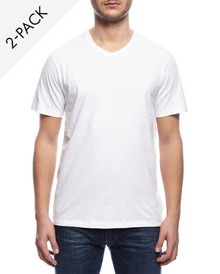 BOSS 2-Pack V-neck T-shirt Relaxed Fit White