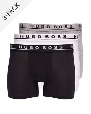 BOSS Boxer brief white/black/grey 3-Pack