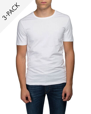 Hugo Boss  3-Pack Crew Neck T-shirt White
