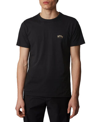 Hugo Boss  Tee Curved 10213473 01 Charcoal