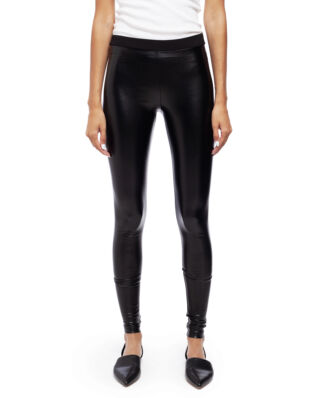 Ida Sjöstedt Dee Leggins Vegan Leather Black