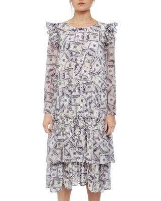 Ida Sjöstedt Paloma Dress Dollar Print