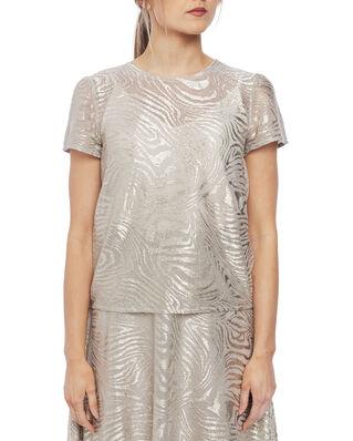 Ida Sjöstedt Wesley Top Glitter Zebra Grey/Gold