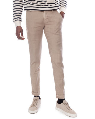 Incotex Incotex Men trousers8 Beige Medio