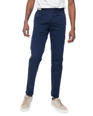 Incotex Incotex Regular Fit Chinos Blue