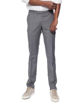 Incotex Incotex Slim Fit Wool Trousers Grigio Chiaro