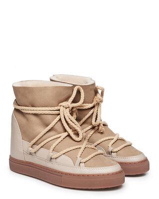 INUIKII Sneaker Classic Wedge Beige