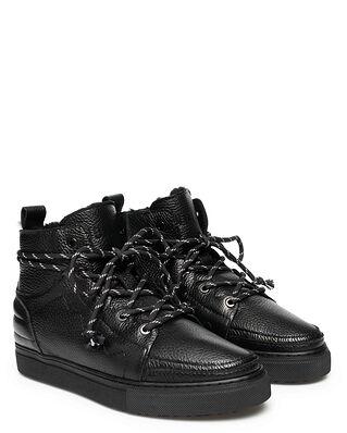 INUIKII Sneaker Low Top Leather Black