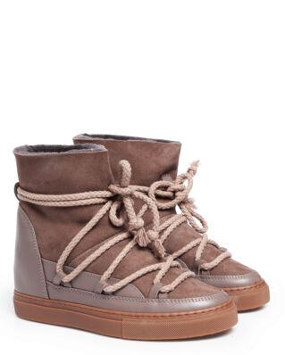 INUIKII INUIKII Sneaker Classic Wedge Taupe-Import FW19