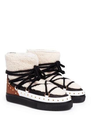 INUIKII Sneaker Curly Rock Cream