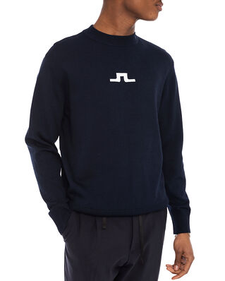 J.Lindeberg Beckert Crew Neck Sweater JL Navy