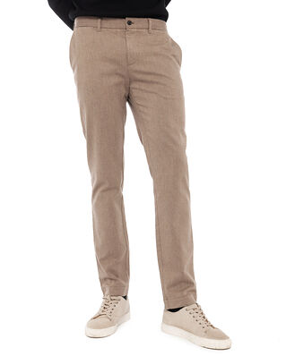 J.Lindeberg Chaze Flannel Twill Pants Wood Brown