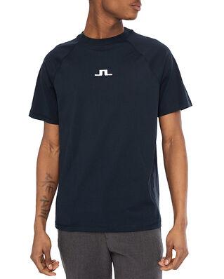 J.Lindeberg Davin Print T-shirt JL Navy