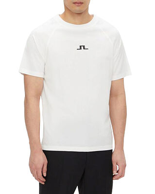 J.Lindeberg Davin Print T-shirt White