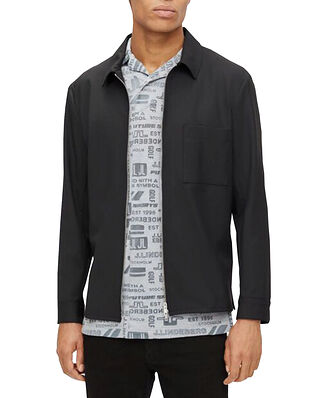 J.Lindeberg Jason Stretch Twill Overshirt Black