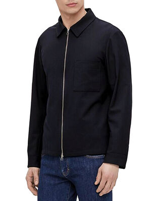 J.Lindeberg Jason Stretch Twill Overshirt JL Navy