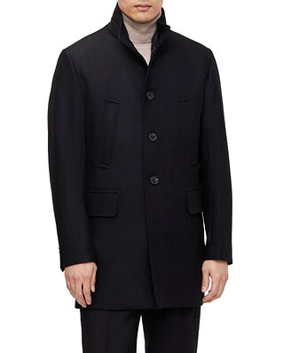J.Lindeberg Kali Wool Coat Black