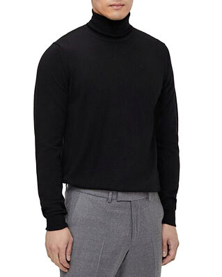 J.Lindeberg Lyd Merino Turtleneck Sweater Black