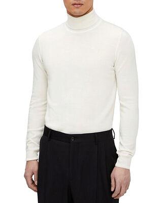 J.Lindeberg Lyd Merino Turtleneck Sweater Cloud White