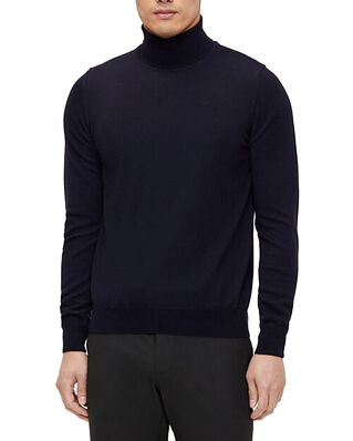 J.Lindeberg Lyd Merino Turtleneck Sweater JL Navy
