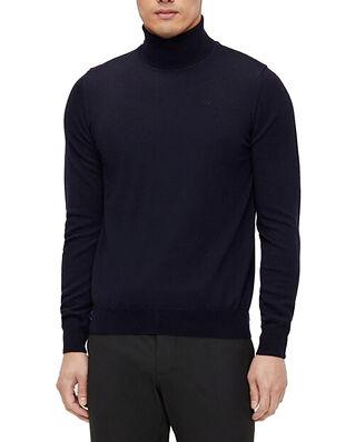 J.Lindeberg Lyd Merino Turtleneck Sweater JL Navy
