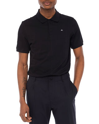 J.Lindeberg Rubi Slim Polo Shirt Black