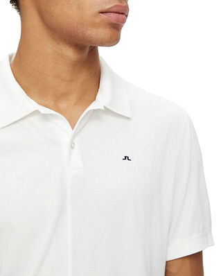 J.Lindeberg Rubi Slim Polo Shirt White