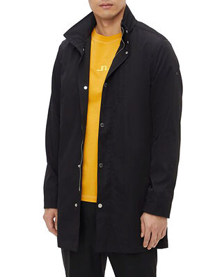 J.Lindeberg Terry Poly Stretch Coat Black