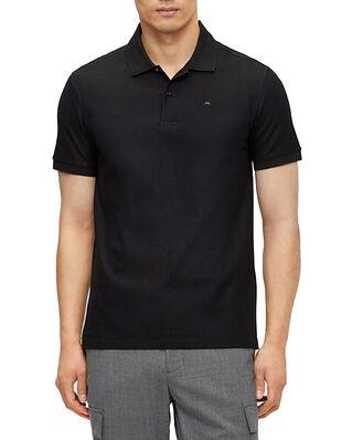 J.Lindeberg Troy ST Pique Polo Shirt Black