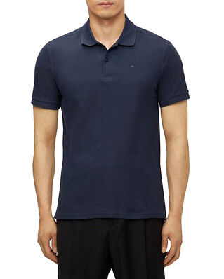 J.Lindeberg Troy ST Pique Polo Shirt JL Navy