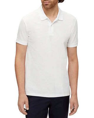 J.Lindeberg Troy ST Pique Polo Shirt White