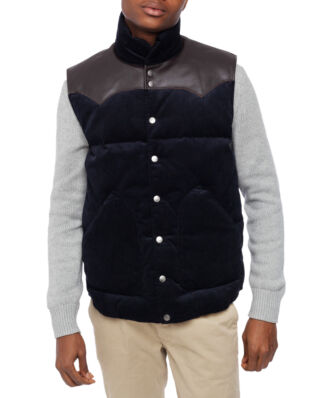 Jackson Hole Originals Original Cord Vest Deep Navy