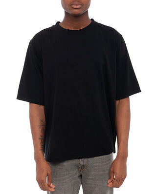 Jeanerica Hugo Oversized Tee Black