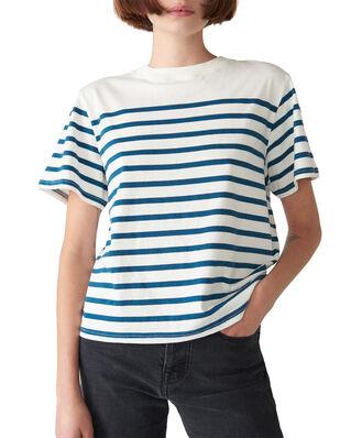 Jeanerica Luz Stripe Navy/White