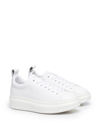 Jim Rickey Club Tech Tumbled Leather/Patent White