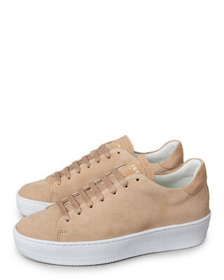 Jim Rickey Deuce Court Wmn Cow Suede Beige