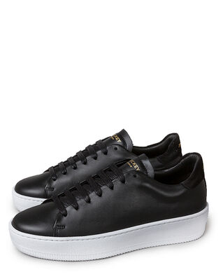 Jim Rickey Deuce Court Wmn Leather/Suede Black