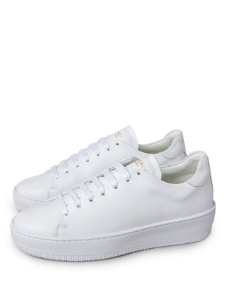 Jim Rickey Deuce Court Wmn Leather/Suede White
