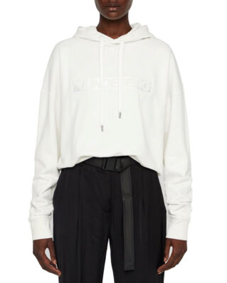 J.Lindeberg Leila-Ring Loop Sweat Hoodie Cloud White