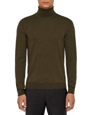 J.Lindeberg Lyd-True Merino Forest Green-Import FW19